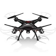 RC Drone SYMA X5SW 4 Kanaler 6 Akse 2.4G Med 0.3MP HD kamera Fjernstyret quadcopter FPV Hovedløs Modus 360 Graders Flyvning Med kamera