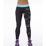 Yoga hlače Donji Quick dry Prozračnost Prirodno Rastezljiva Sportska odjeća ŽeneYoga Sposobnost Trkaći brod Slobodno vrijeme Sport