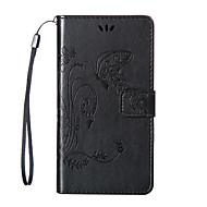 billiga Mobil cases & Skärmskydd-fodral Till Nokia Lumia 950 Nokia Lumia 640 Nokia Nokia Lumia 530 Nokia Lumia 730 Nokia-fodral Korthållare Plånbok med stativ Läderplastik