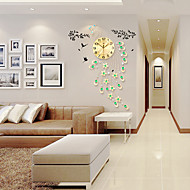 cheap Wall Clocks-Modern/Contemporary Glass Metal Novelty Others Indoor,AA Wall Clock