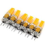 billige Bi-pin lamper med LED-2w g4 ledet bi-pin lys mr11 1 cob 200lm varm hvit kald hvit 3000k-6000k dekorativ dc 12 ac 12v