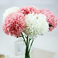 billige Kunstig Blomst-Kunstige blomster 1 Afdeling Europæisk Stil Hortensiaer Bordblomst