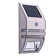 billige Utendørs Lampeskjermer-1 stk LED Solcellebelysning Soldrevet Sensor Oppladbar Vanntett