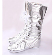 Sapatos de Dança(Prateado) -Feminino-Não Personalizável-Jazz