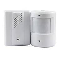 Door Bell Alarm Chime Doorbell Wireless Infrared Monitor Sensor Sensitive Detector Welcome Entry Music Bell