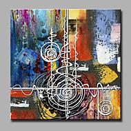 billige Mini Size-Hånd-malede Fantasi Firkantet,Moderne Et Panel Kanvas Hang-Painted Oliemaleri For Hjem Dekoration