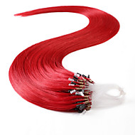 neitsi® 20inch 50s / lot 50g micro anel loops de extensões de cabelo humano Anéis de cabelo humano