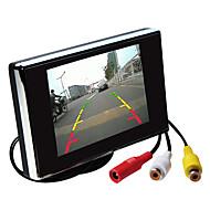 billiga Parkeringskamera för bil-3,5 tums TFT-LCD bil backspegel övervaka hd med stativ vända backup kamera av hög kvalitet