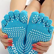 Χαμηλού Κόστους Fitness Mom-Γυναικεία Κάλτσες με Δάχτυλα Κάλτσες Anti Transpirație Αντιολισθητικό για Γιόγκα