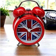 ieftine Ceasuri de Masă-Tradițional Plastic MetalPistol Rotund Interior,AA Ceasuri cu alarmă
