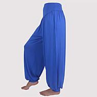 Yoga hlače Šareni Bloomers Trousers Donji Antistaticna Prozračnost Veći konfekcijski brojevi Smooth Neelastično Sportska odjeća Žene