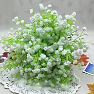 1 Gren Polyester Kurvplante Brudeslør Bordblomst Kunstige blomster