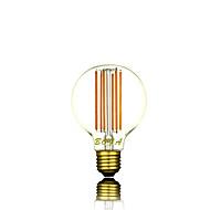 1 stk. NO E26 / E26/E27 6W 6 COB 300-500 lm Varm hvit G80 Dimbar / Dekorativ LED-globepærer AC 220-240 V