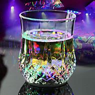ieftine $9.99-rgb a condus magie inductive ceașcă de schimbare a culorii pentru decorare partid KTV ananas halbă ceașcă whisky de bere