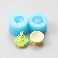 tanie Formy do ciast-Forma do pieczenia Cartoon Shaped Czekoladowy Placek Ciasteczka Tort Silicon Rubber DIY Urodziny Wysoka jakość