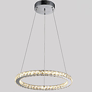 cheap -Modern / Contemporary Pendant Light Ambient Light - Crystal LED, 110-120V 220-240V, Warm White Cold White, LED Light Source Included