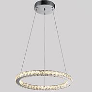 billiga Belysning-Cirkelrunda Hängande lampor Glödande - Kristall, LED, 110-120V / 220-240V, Varmt vit / Kall vit, LED-ljuskälla ingår / 10-15㎡