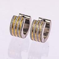 Herre Stangøreringe Store øreringe kostume smykker Smykker Til Bryllup Fest Daglig Afslappet