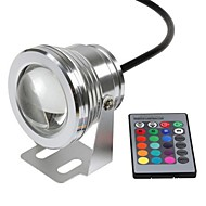 cheap Outdoor Lighting-Underwater Lights Remote Controlled Waterproof Remote-Controlled RGB DC 12V