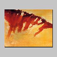 billiga Abstrakta målningar-Hang målad oljemålning HANDMÅLAD - Abstrakt / fantasi Moderna Inkludera innerram