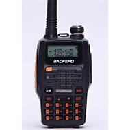 BAOFENG Håndholdt Digital UV-5R UPFM-radio Lader og adapter Stemmekommando Strømskifter høy/lav Type walkie-talkie LCD-display