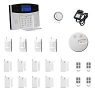 433MHz sms / telefonní 433MHz systémy learning code domácí alarm / telefon gsm