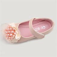 tanie Obuwie dziewczęce-Dla dziewczynek Buty Mikrowłókno Wiosna Jesień Comfort Buty płaskie na Na wolnym powietrzu Różowy Kryształowy