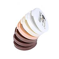 6 Powder Märkä / Matte / Mineraali Pressed powder Vaalennus / Pitkäkestoinen / Luonnollinen Kasvot Monivärinen Zhejiang LIDEAL