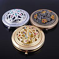 luxusním dutý kosmetické zrcátko vánoční svatební dar (náhodné barvy)