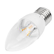 billige Stearinlyslamper med LED-350-400 lm E14 / B22 / E26 / E27 LED-lysestakepærer Innfelt retropassform 18LED LED perler SMD 2835 Dekorativ Varm hvit / Kjølig hvit 85-265 V / 1 stk. / RoHs / CCC