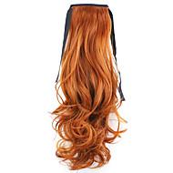 rød lengde 50cm fabrikken direkte salg bind typen krøll horSettail hår hestehale (farge 119)