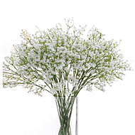 cheap Top Sellings-Artificial Flowers 6 Branch Wedding Flowers Baby Breath Tabletop Flower