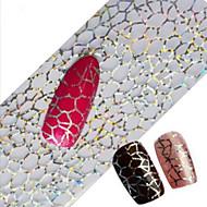 1 Adet 100cmx4cm glitter tırnak folyo etiket güzel dantel çiçek yaprak tüy görüntü tırnak süslemeleri diy güzellik stzxk16-20