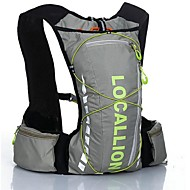 10L L Cycling Backpack Backpack for Leisure Sports Traveling Running Sports Bag Reflective Strip Wearable Multifunctional Including Water