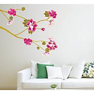 baratos Películas e Adesivos de Janela-Floral Contemporâneo Adesivo de Janela Material Decoração de janela