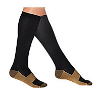 Chaussettes longueur genoux Unisexe Compression pour Exercice & Fitness Courses Course/Running