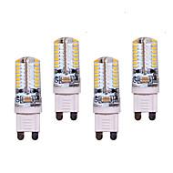 voordelige LED-lampen-550 lm G9 2-pins LED-lampen T 64 leds SMD 3014 Decoratief Warm wit Koel wit AC 200-240V AC 220-240V