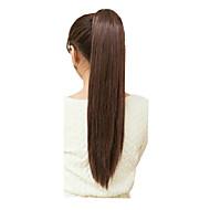 billige -Hairextensions med menneskehår syntetisk 100 22 Hår extension