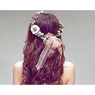 お買い得  ウェディング髪飾り-樹脂 プラスチック - ヘッドバンド 1 結婚式 かぶと