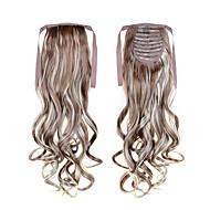 a melhor venda cabelo longo rabo de cavalo extentions 22inch 55 centímetros 100g # 12/613 cor misturada com cordão sintético rabo de