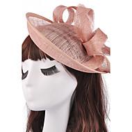 preiswerte Hochzeits Kopfschmuck-Flachs Fascinator Kopfbedeckung Hochzeitsparty elegante weibliche Stil
