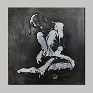 halpa -Hang-Painted öljymaalaus Maalattu - Ihmiset Moderni Kangas
