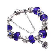 ieftine -Pentru femei Dame Brățări cu Talismane Brățări Bangle Bratari Strand Silver Bracelets Cristal Adorabil Ștrasuri European Durabil La modă