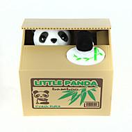 Kumbara Çalmak para bankası çalmak Tasarruf Para Kasası Case Piggy Bank Urocze Dörtgen Panda