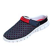 miesten kengät kumi ulkona / rento loafers / slip-on ulkona / rento kävely tasainen kantapää muut sininen / keltainen / punainen