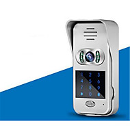 wifi, video intercom ringeklokke villa ordningen mobiltelefon app fjern låse overvåking videokamera hjemme