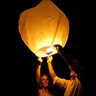 cheap Candles & Candleholders-Wedding Wishing With Candle Chinese Fire Flying Sky Paper Kongming Floating Lantern  Random Color
