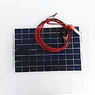Zdm® 30w dc12v çıkışı 1.8a monokristalin silikon güneş paneldc12-18v)