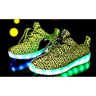 baratos Sapatos de Menino-Para Meninos / Para Meninas Sapatos Tule Primavera / Verão / Outono Conforto / MaryJane Tênis para Verde / Azul / Rosa claro