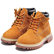 cheap Boys' Shoes-Boys' Shoes Suede Fall / Winter Cowboy / Western Boots / Comfort Boots for Casual / Outdoor Dark Blue / Brown / Red